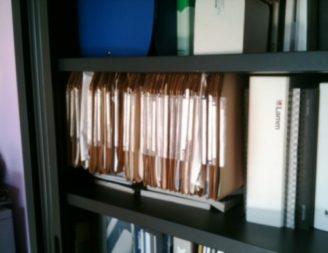 Cartelle sospese per armadio conf. 25pz
