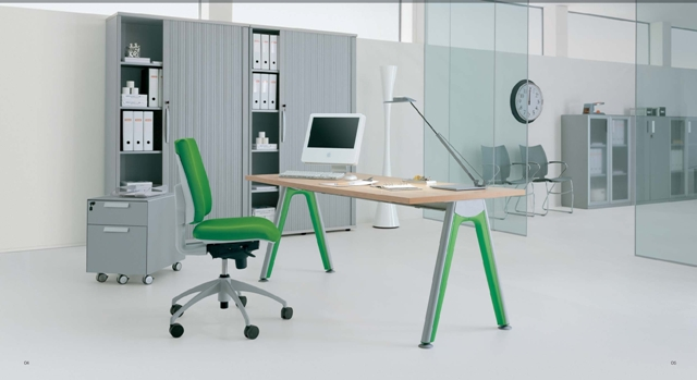 scrivania operativa espace