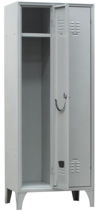 armadio spogliatoio classico 2 posti